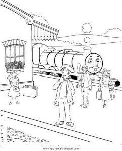 thomas train 17 gratis malvorlage in comic  trickfilmfiguren, thomas und seine freunde - ausmalen