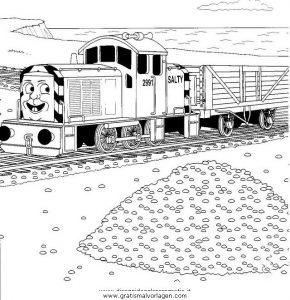 Thomas Train 25 Gratis Malvorlage In Comic Trickfilmfiguren