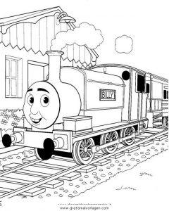 Thomas Train 27 Gratis Malvorlage In Comic Trickfilmfiguren