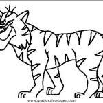 Luchs 15 Gratis Malvorlage In Tiere Tiger Ausmalen