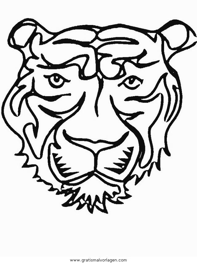 tiger 25 gratis malvorlage in tiere tiger  ausmalen
