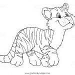 Tiger Malvorlagen Zum Ausmalen Für Kinder