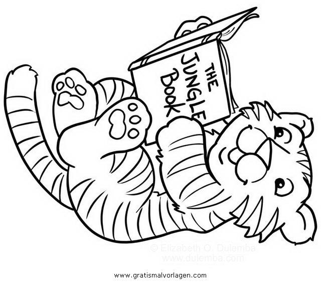 Tigerbaby 2 gratis malvorlage in tiere tiger ausmalen for Immagini tigre da colorare