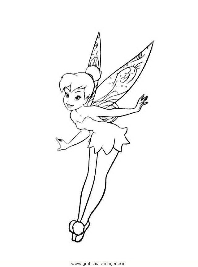 tinkerbell trilly 21 gratis Malvorlage in Comic ...