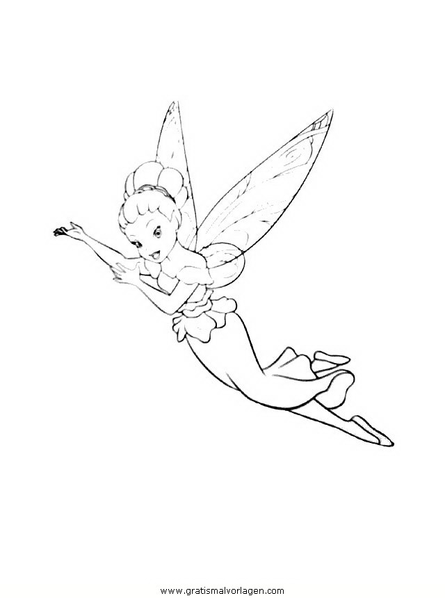 Tinkerbell Trilly 22 Gratis Malvorlage In Comic
