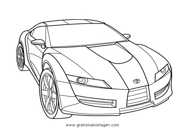 Toyota Supra Gratis Malvorlage In Autos2 Transportmittel