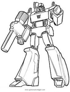 Transformers Megatron 3 Gratis Malvorlage In Comic