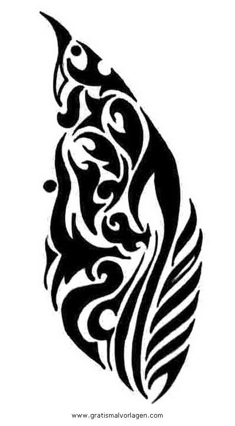 tribal 07 gratis malvorlage in diverse malvorlagen tribal