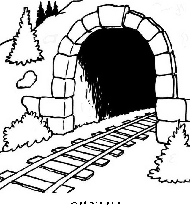 tunnel gratis malvorlage in beliebt05 diverse malvorlagen