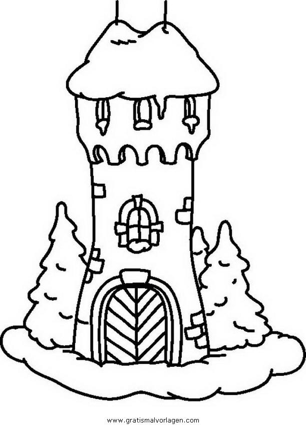 Turm 1 Gratis Malvorlage In Beliebt08 Diverse Malvorlagen Ausmalen