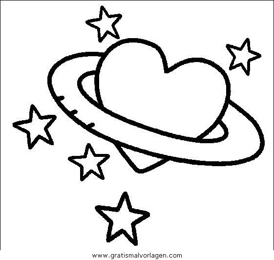 Valentinstag Malvorlagen zum Ausmalen für Kinder -
