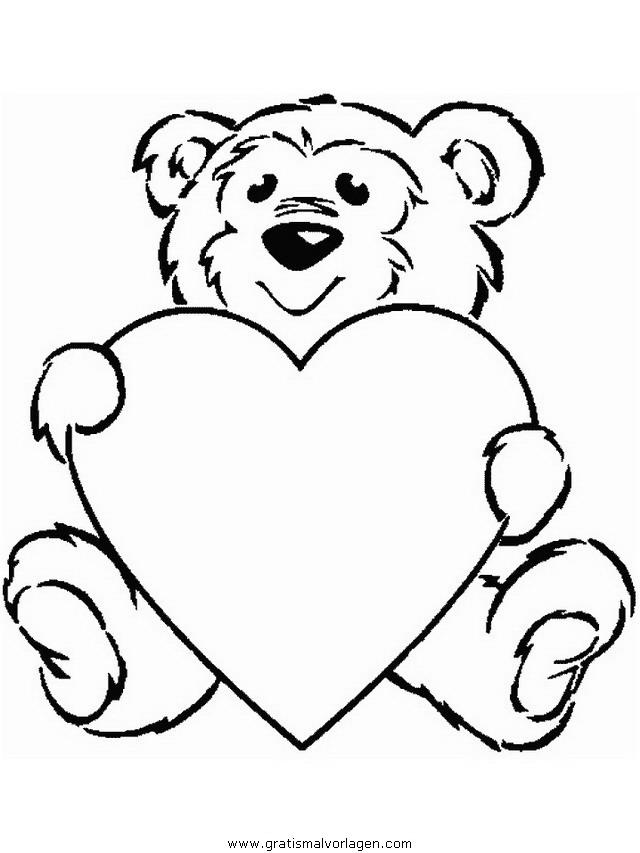 valentinstag 39 gratis Malvorlage in Feste, Valentinstag - ausmalen