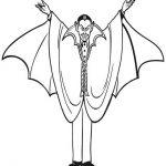 Vampir Malvorlagen Zum Ausmalen Für Kinder