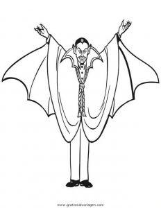 Vampir Vampire 12 Gratis Malvorlage In Fantasie Vampir