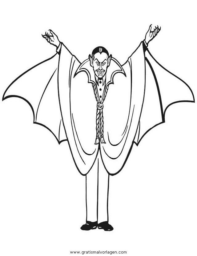 vampire zum ausmalen  ausmalbilder und vorlagen