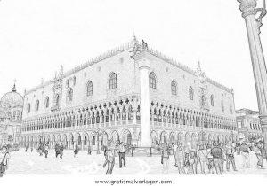 Venedig 4 Gratis Malvorlage In Diverse Malvorlagen Landschaft