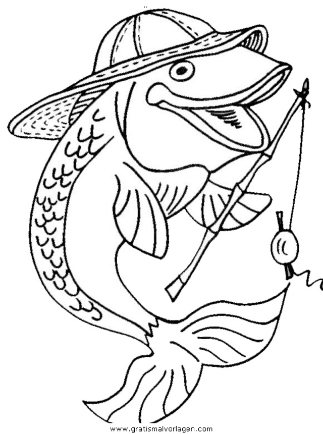 verschiedene fische 120 gratis malvorlage in fische tiere