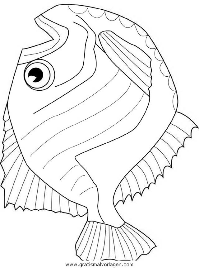 verschiedene fische 20 gratis malvorlage in fische tiere