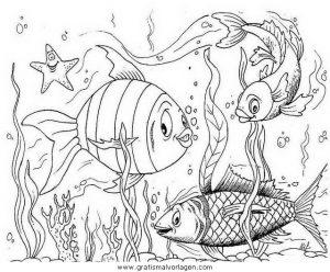 verschiedene fische 43 gratis malvorlage in fische, tiere - ausmalen