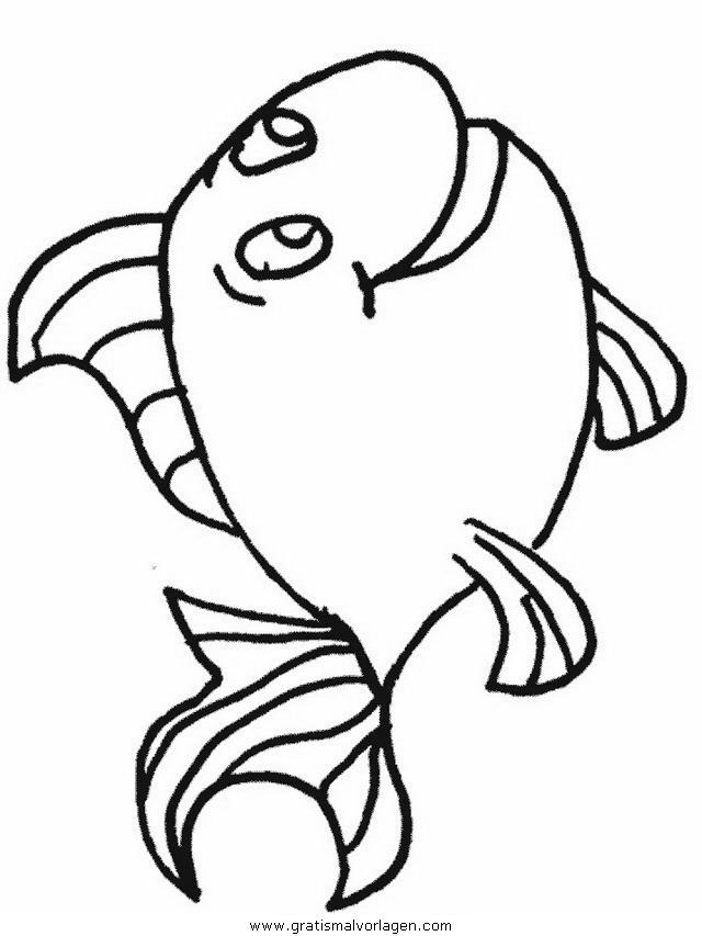 verschiedene fische 45 gratis malvorlage in fische tiere