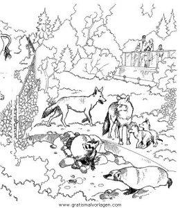 Verschiedene Tiere 14 Gratis Malvorlage In Tiere Verschiedene Tiere