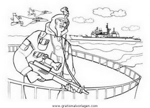 Waffen Krieger 32 Gratis Malvorlage In Menschen Soldat Ausmalen