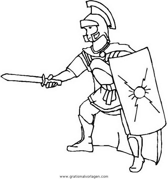 Waffen Krieger 46 Gratis Malvorlage In Menschen Soldat Ausmalen