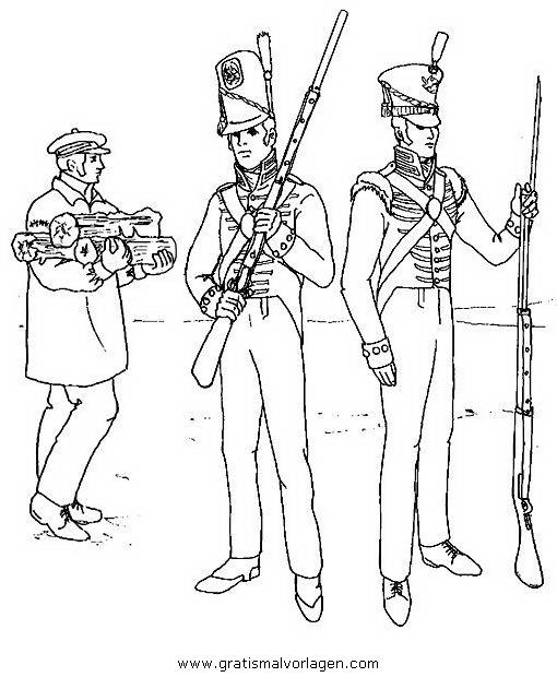 waffen krieger 62 gratis malvorlage in menschen soldat