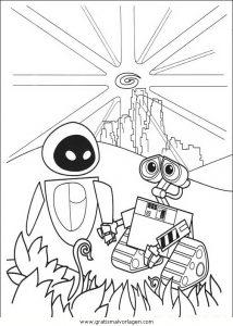 Malvorlage WALL·E wall e 77