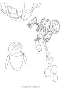 Malvorlage WALL·E wall e 79
