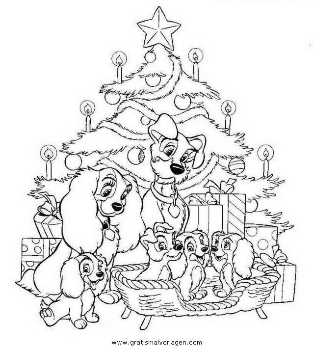 Weihnachts Disney 31 Gratis Malvorlage In Weihnachten