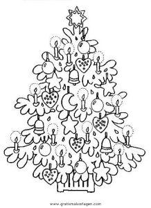Malvorlage Weihnachtsbäume weihnachtsbaume 47