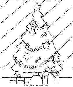 Malvorlage Weihnachtsbäume weihnachtsbaume 57