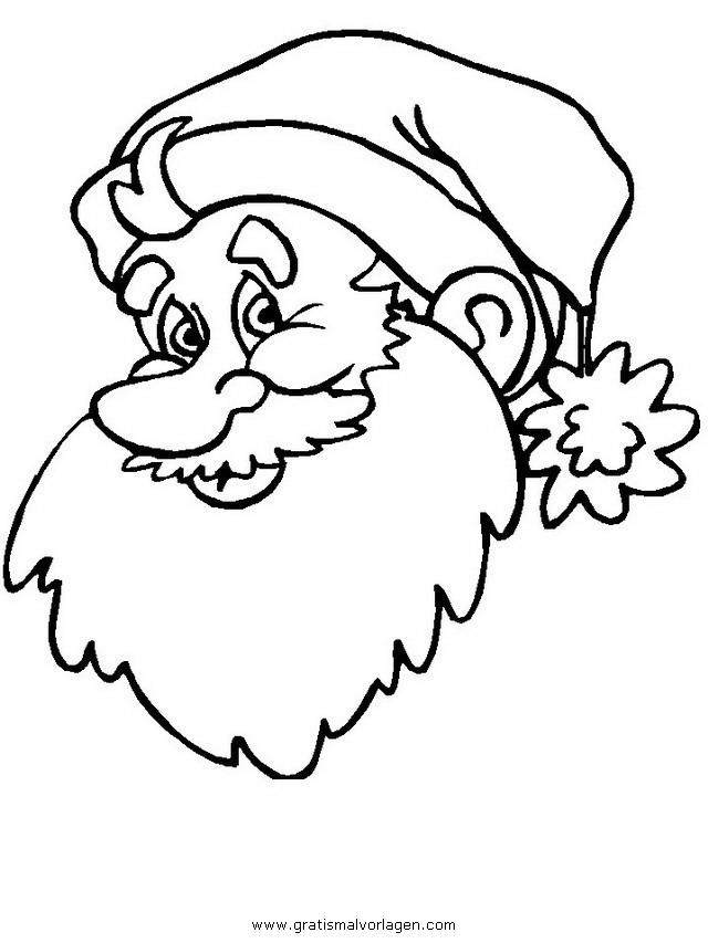 weihnachtsmanner 029 gratis malvorlage in weihnachten