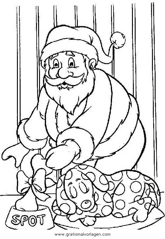 weihnachtsmanner 032 gratis malvorlage in weihnachten