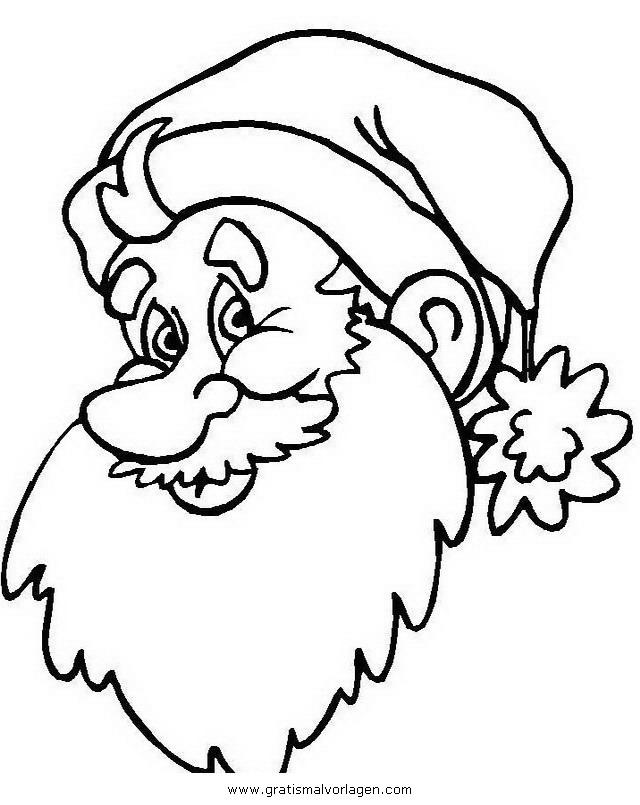 weihnachtsmanner 064 gratis malvorlage in weihnachten