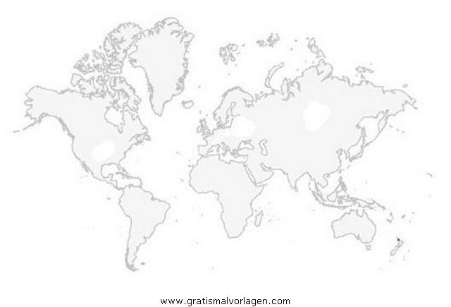 Weltkarte Gratis Malvorlage In Geografie Landkarten Ausmalen