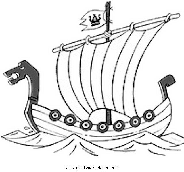 Schiffe Malvorlagen Zum Ausmalen Für Kinder