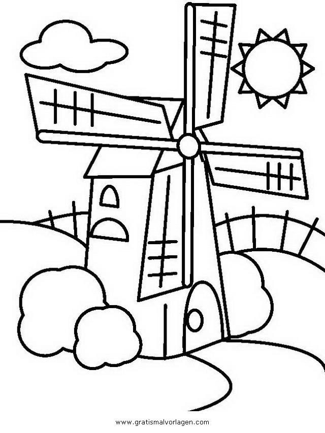 windmuehle 8 gratis malvorlage in diverse malvorlagen
