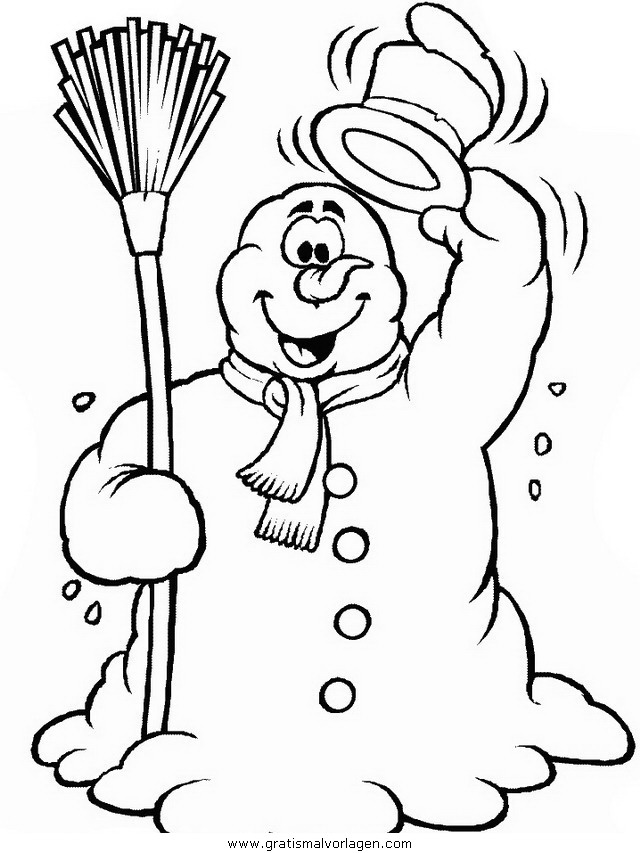 winter 36 gratis malvorlage in natur winter  ausmalen
