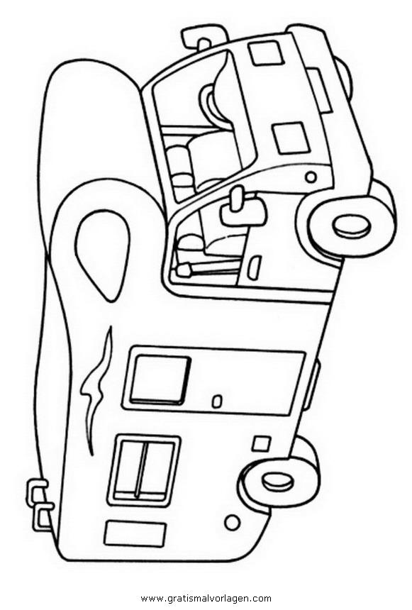 Wohnmobil Gratis Malvorlage In Lastwagen Transportmittel Ausmalen