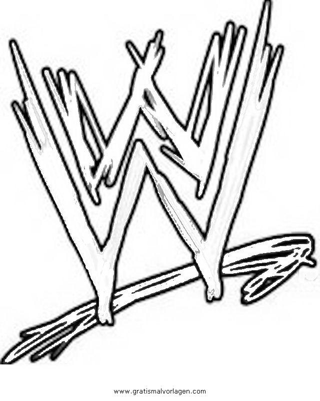 wwe wrestling 0 gratis Malvorlage in Sport, Verschiedene Sportarten ...