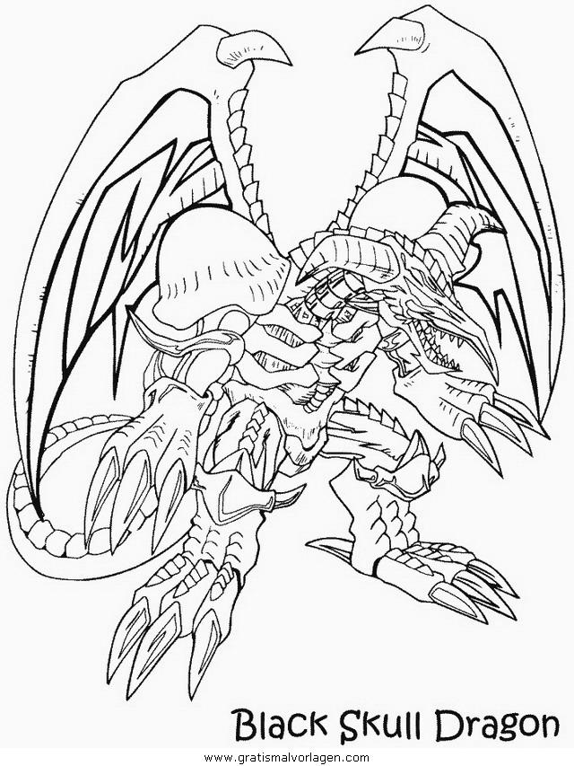 yugioh 01 gratis malvorlage in comic  trickfilmfiguren