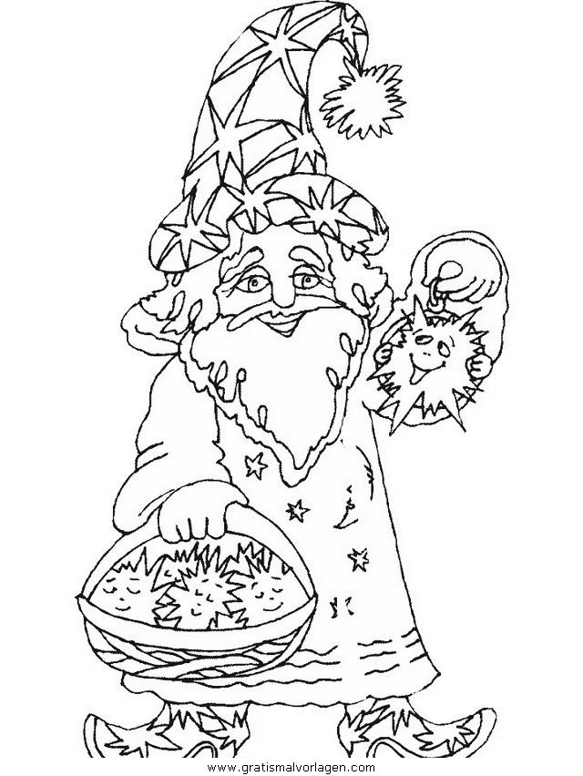 zauberer 11 gratis malvorlage in fantasie zauberer  ausmalen