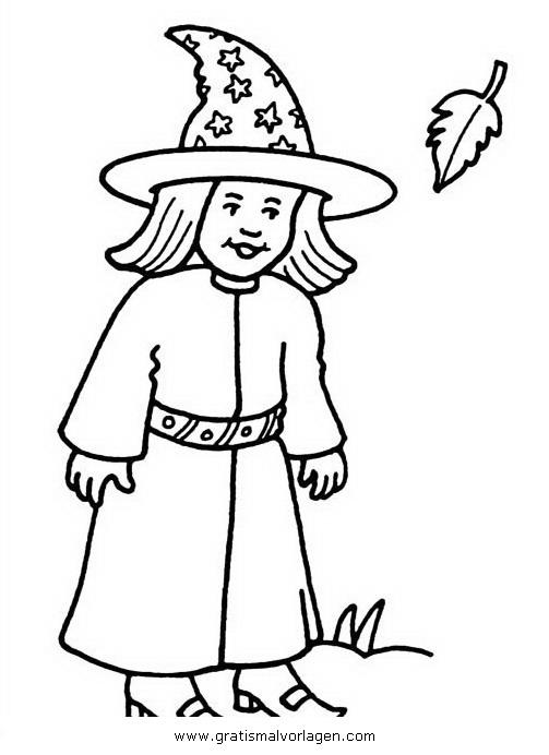zauberin 9 gratis malvorlage in fantasie zauberer  ausmalen