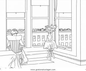 Malvorlage Betten Zimmer Wohnung 9