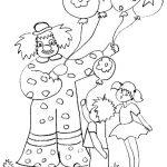 Zirkus Malvorlagen Zum Ausmalen Für Kinder