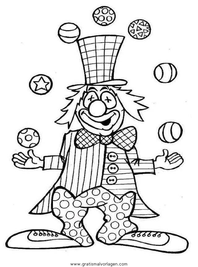 malvorlagen zirkus nemo - kinder zeichnen und ausmalen