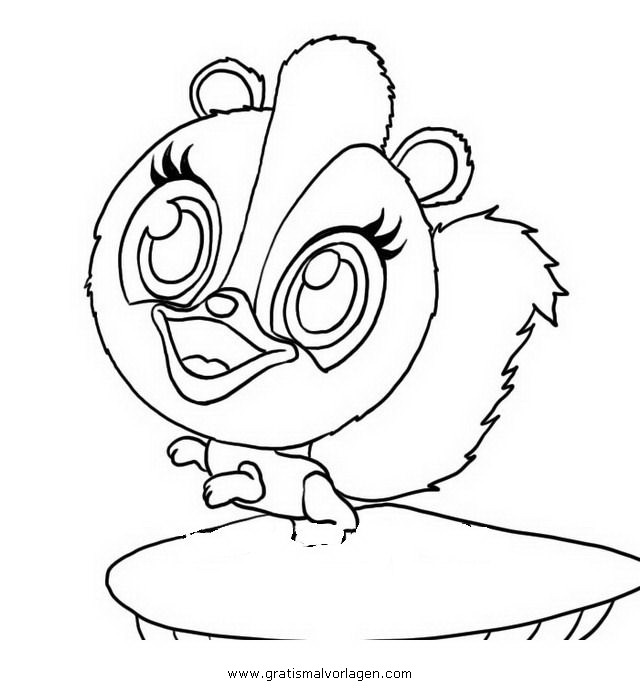 Zoobles 05 gratis malvorlage in comic trickfilmfiguren for Zoobles coloring pages