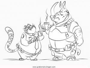 Zoomania Zootropolis 28 Gratis Malvorlage In Comic